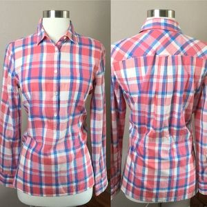 J.Crew Factory New With Tags Plaid Button down